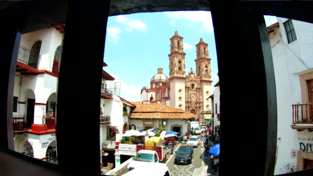 Santa Prisca Church in Taxco, Guerrero, Mexico video