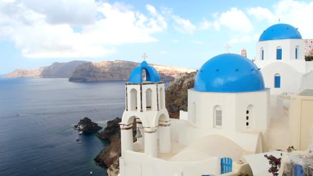 Santorini, Greece Domes video