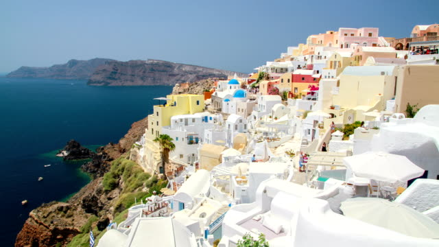 Santorini island, Greece. video