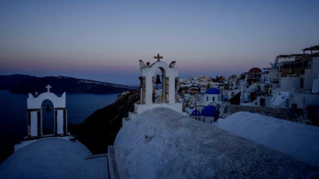 Santorini sunrise - Timelapse video