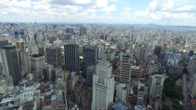 sao paulo city, brazil - são paulo video stock e b–roll