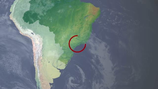 sao paulo  fifa world cup 2014 brazil hosting city - minas gerais eyaleti stok videoları ve detay görüntü çekimi