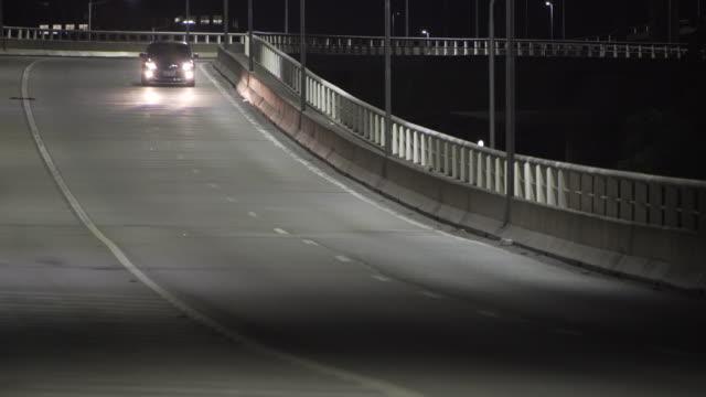 sao paulo´s traffic - 曲線点の映像素材/bロール