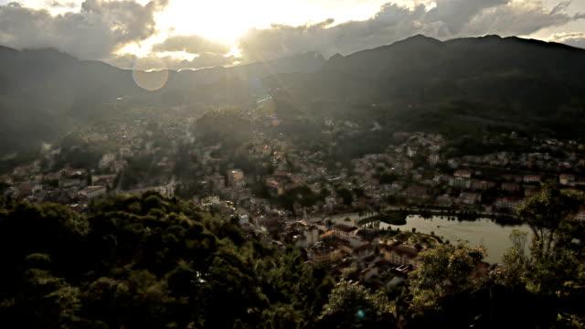 Sapa Town, Lao Cai Province, Vietnam video