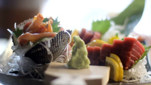 sashimi-set – Video
