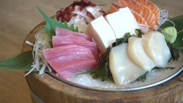 Sashimi Sashimi sashimi stock videos & royalty-free footage