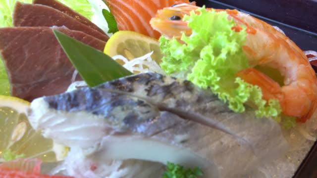 Sashimi video