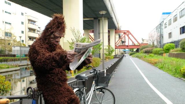 sasquatch i tokyo japan - primat bildbanksvideor och videomaterial från bakom kulisserna
