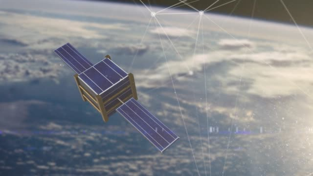 Satellite and nanosatellite global data telecommunication connectivity