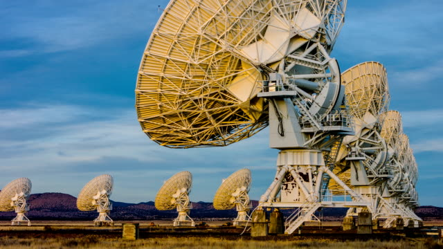 Satellite Array - VLA video