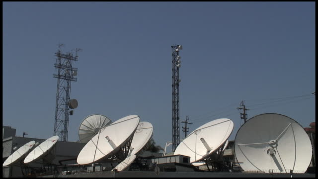 HD: Satellite Dish Farm video