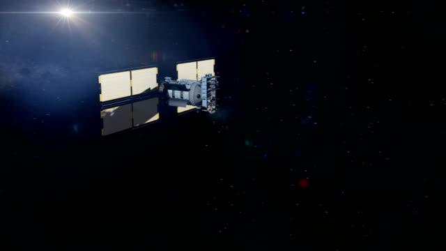 stockvideo's en b-roll-footage met glosnass satelliet flyby - {{asset.href}}