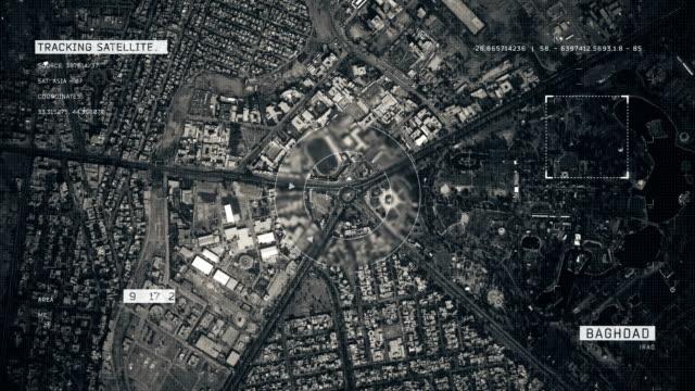 Satellitenbild von Bagdad – Video