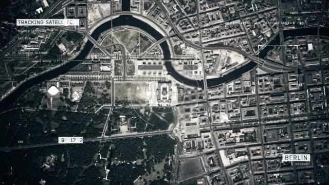 Satellitenbild von Berlin – Video