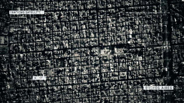 vidéos et rushes de image satellite de buenos aires - argentine