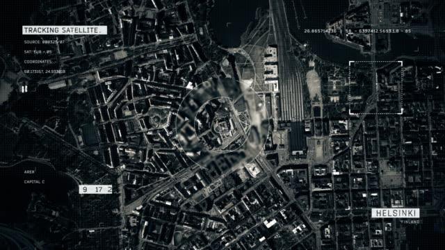 Satellitenbild von Helsinki – Video