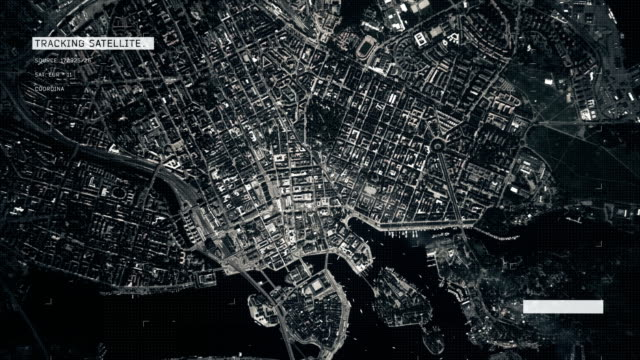 satellite image of stockholm - zoom out stock videos & royalty-free footage