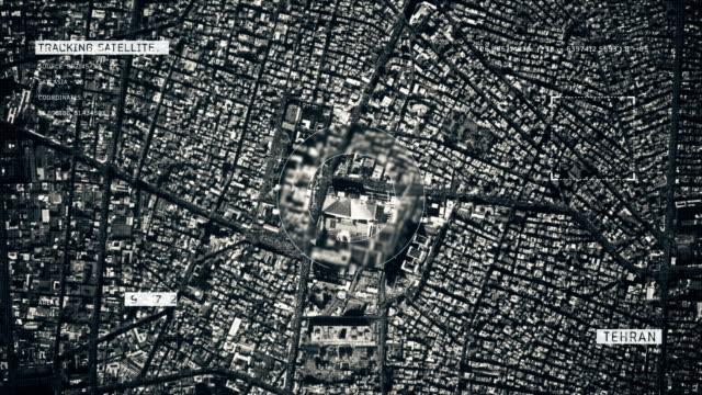 德黑蘭衛星圖像 - 德黑蘭 個影片檔及 b 捲影像