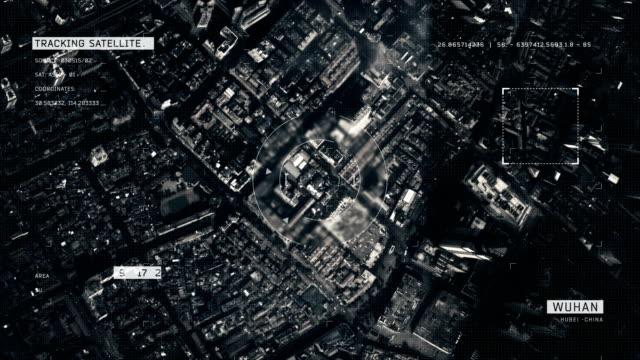 Satellitenbild von Wuhan – Video