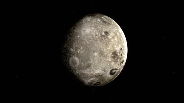 오 베론 또는 iv 천왕성, 천왕성의 위성 회전. 루프 - larry king 스톡 비디오 및 b-롤 화면
