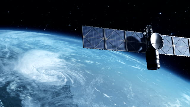 спутник - вид со спутника стоковые видео и кадры b-roll