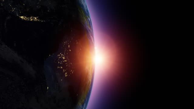 澳大利亞日出衛星鳥瞰圖 - 亞太地區 個影片檔及 b 捲影像