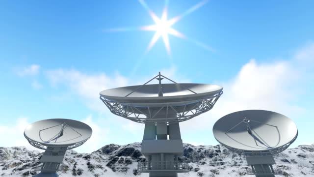 satellites and time lapse clouds - вид со спутника стоковые видео и кадры b-roll