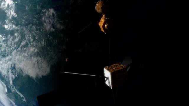 Satellites in Orbit video