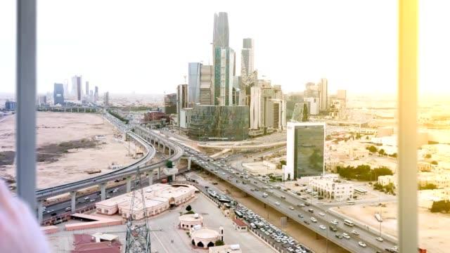 saudi arabia riyadh - arabia saudita video stock e b–roll