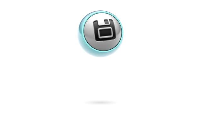 vídeos y material grabado en eventos de stock de guardar - disquete