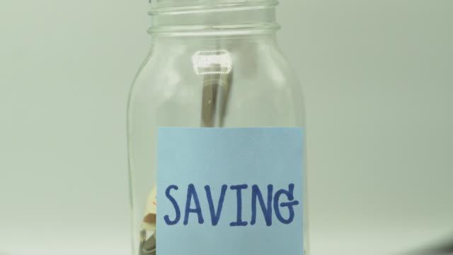 savings account - conto corrente video stock e b–roll