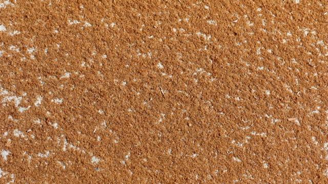 stockvideo's en b-roll-footage met sawdust on the floor - vuil