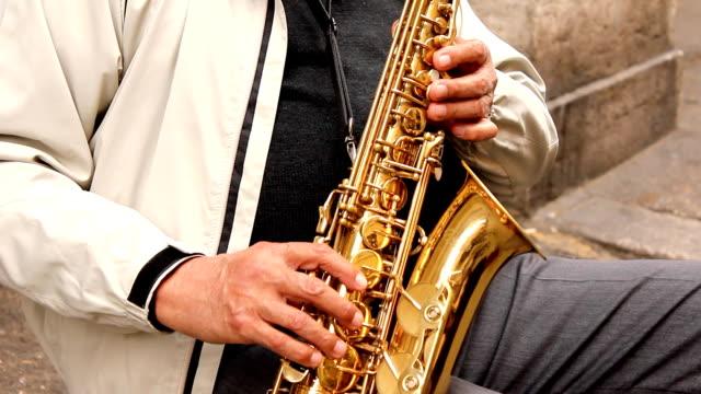 Sax player (HD)