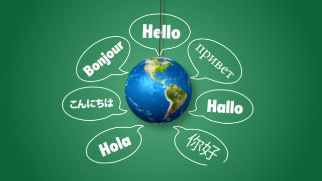 Saying Hello in Different Languages video