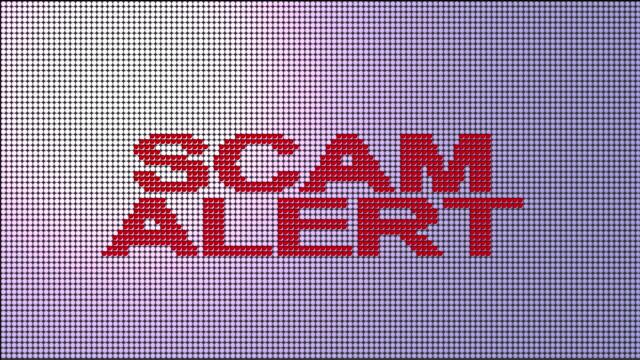 scam alert - fraud stock videos & royalty-free footage