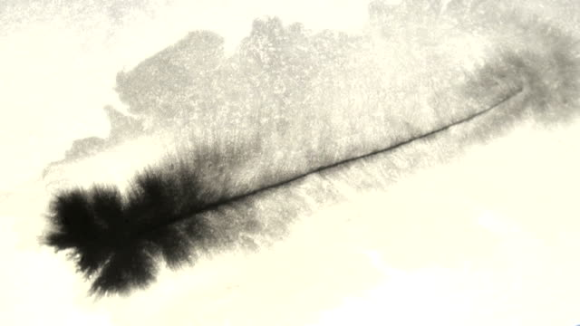 scar ink is applied with a wet sheet of paper video
