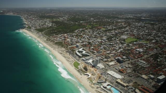 スカボロー ビーチ ヘリコプター - オーストラリア点の映像素材/bロール