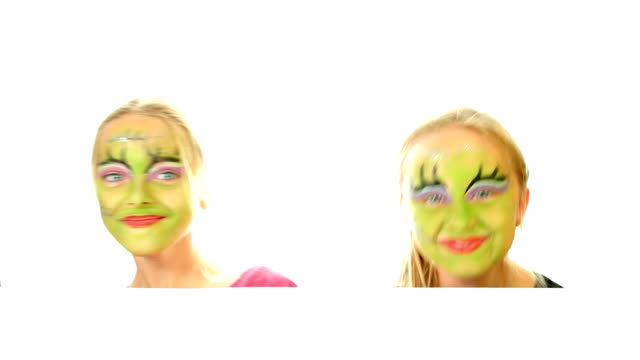 Scary Halloween kids video