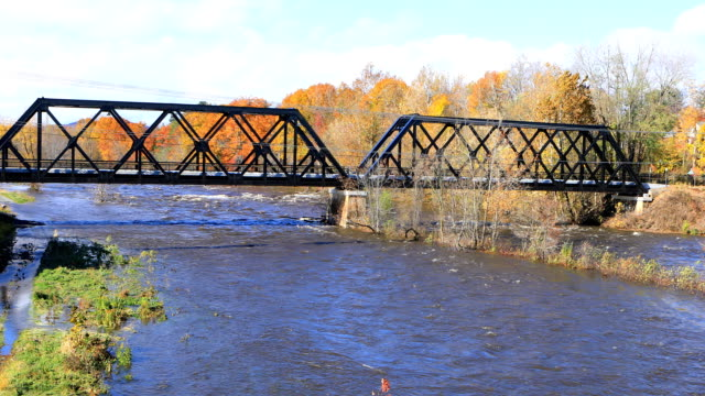 scen av westfield river i westfield, massachusetts - massachusetts bildbanksvideor och videomaterial från bakom kulisserna