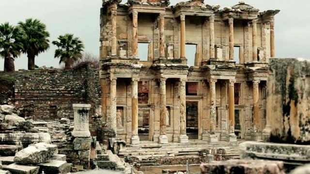 Scenes from ancient city of Ephesus video