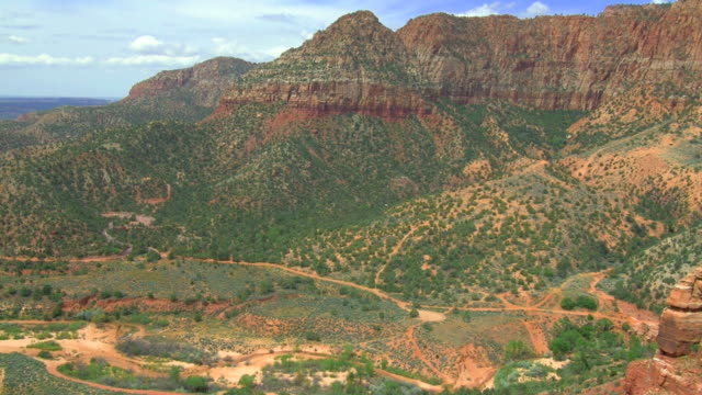 Scenic aerial shots of Utah, USA video