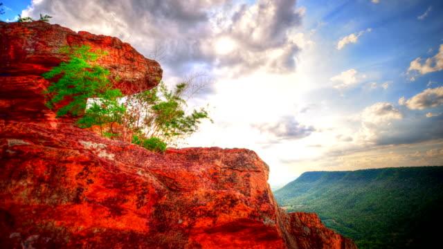 natursköna hög vinkel på mountain time lapse (hdr) - high dynamic range imaging bildbanksvideor och videomaterial från bakom kulisserna
