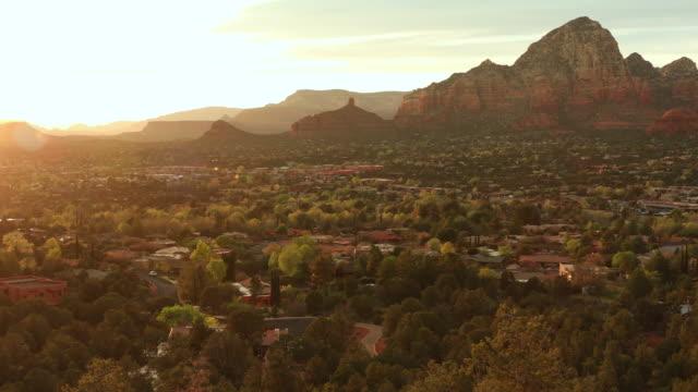 美國亞利桑那州塞多納的風景景觀 - 州立公園 個影片檔及 b 捲影像