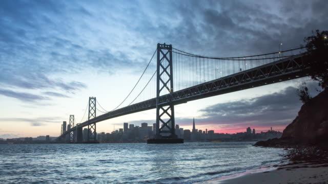 Scenic San Francisco Sunset video