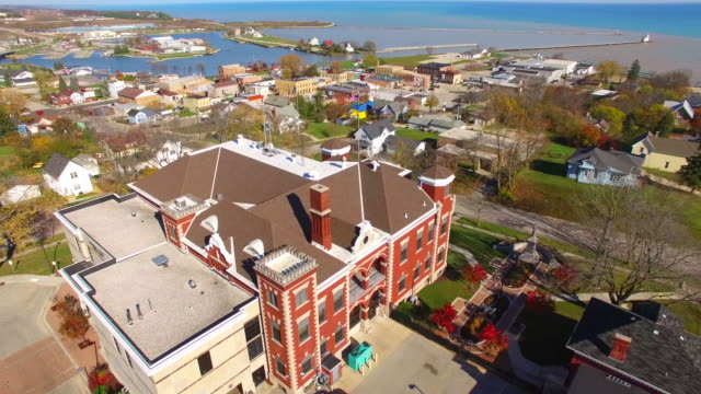 Scenic Small Town America, Aerial Tour video