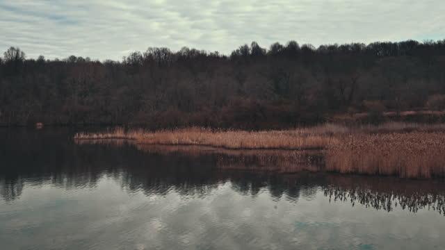 Scenic view of a Marsh Creek reservoir