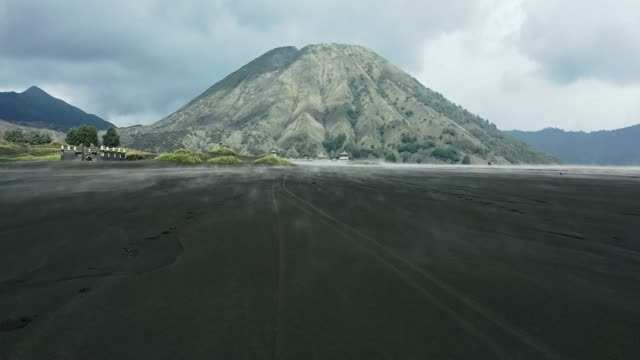 Scenic view of Bromo volcano at sunrise