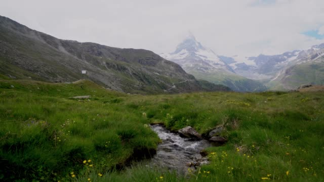 Scenic view of  Matterhorn mountain