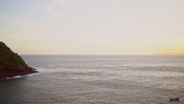 Scenic view of Papuma beach