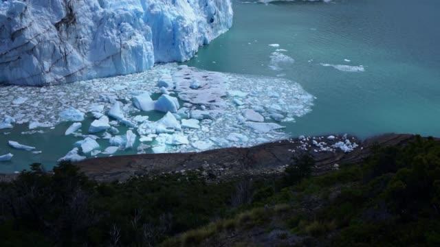 Scenic view of Perito Moreno Glacier in Patagonia